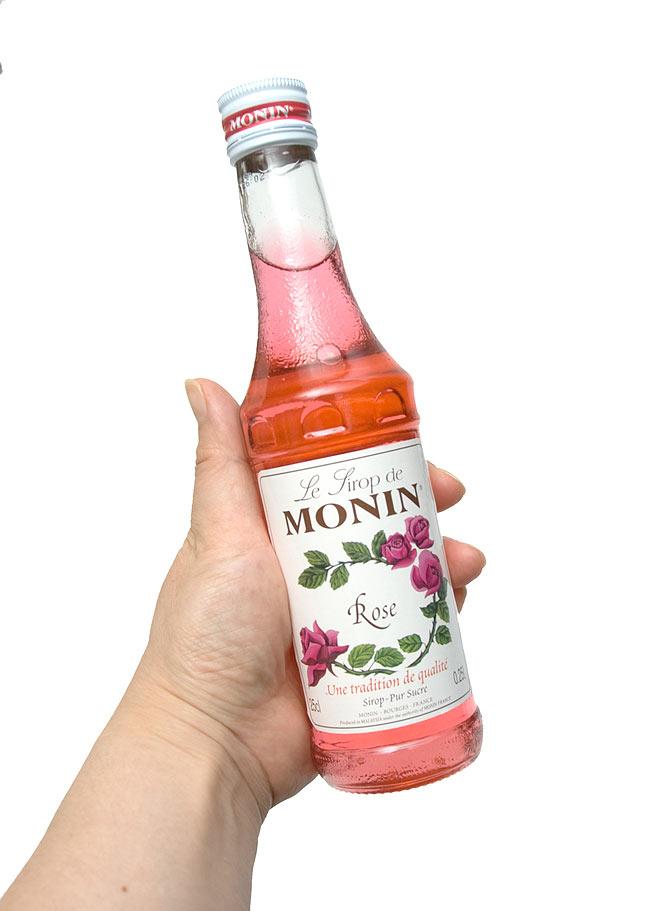 ローズ シロップ - Rose Syrup   【MONIN】 3 - 写真