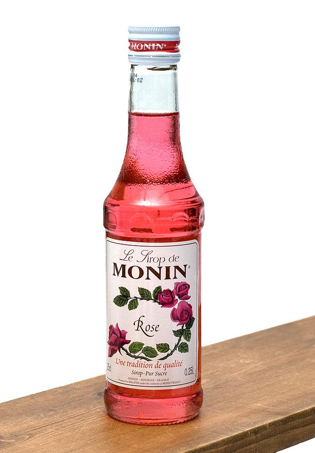 ローズ シロップ - Rose Syrup   【MONIN】の写真