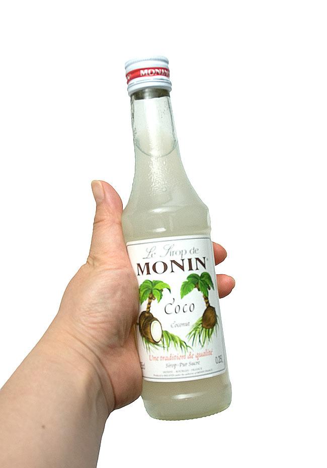 ココナッツシロップ - Coconut Syrup 【MONIN】の写真3 - 写真