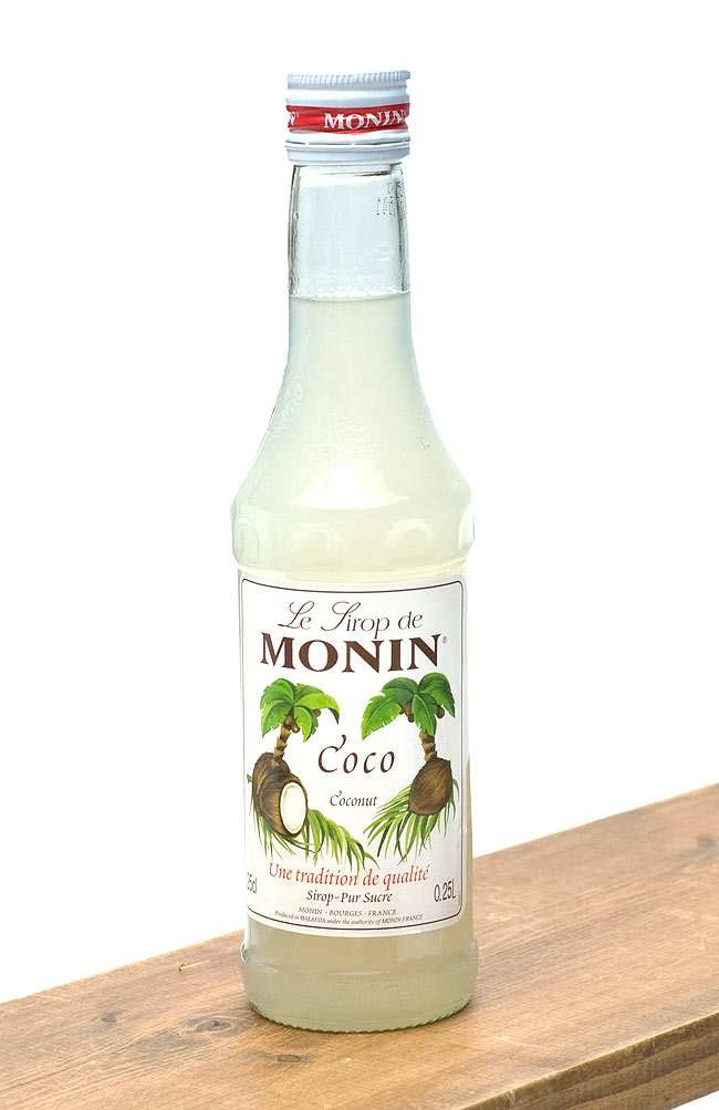 ココナッツシロップ - Coconut Syrup 【MONIN】の写真