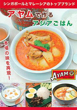 アヤムで作るアジアごはんレシピブック 【AYAM】(FD-INSCRY-214)