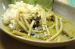 グリーンカレー缶 【Orient Gourmet】の写真