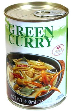 グリーンカレー缶 【Orient Gourmet】の写真2 - 缶をあけたら、温めてお召し上がりください。