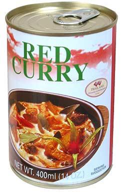 レッドカレー缶 【Orient Gourmet】の写真2 - 缶をあけたら、温めてお召し上がりください。
