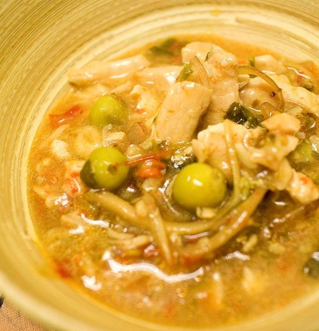 タイ風・激辛鶏肉炒め(パッチャー)【SMART EAT】の写真2 - 湯煎でも電子レンジでも温めてすぐ食べられます。お手軽な1人分♪