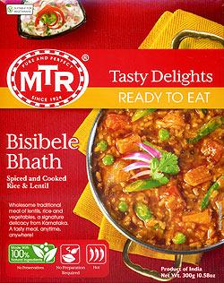 Bisibele Bhath - 豆とスパイスの炊き込みご飯(FD-INSCRY-38)