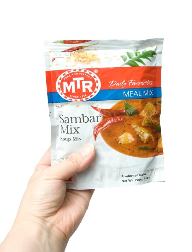 Sambar Mix - サンバル スープ ミックスの写真2 - 手に持ってみました。