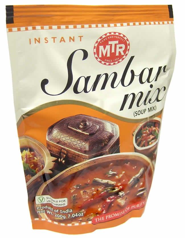 Sambar Mix - サンバル スープ ミックスの写真3 - こちらのパッケージへでのお届けになる場合がございます。内容に変更はありませんのであらかじめご了承下さいませ。