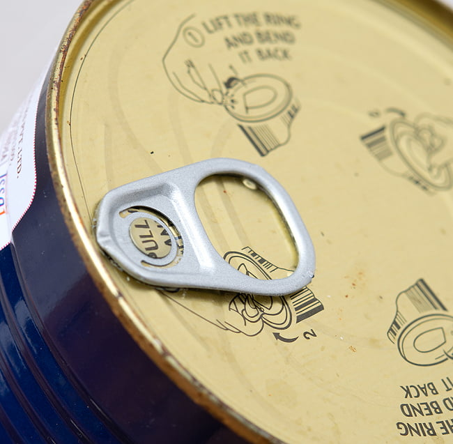 ラスグッラ rasgulla(1kg) 【Jabsons】の写真4 - 箱を開くと中から缶が出てきます
