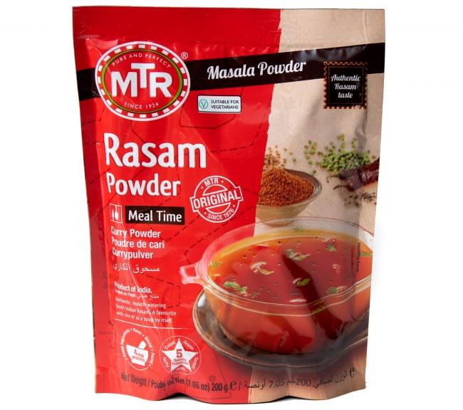 ラサム カレー パウダー Rasam Powder 【MTR】の写真1