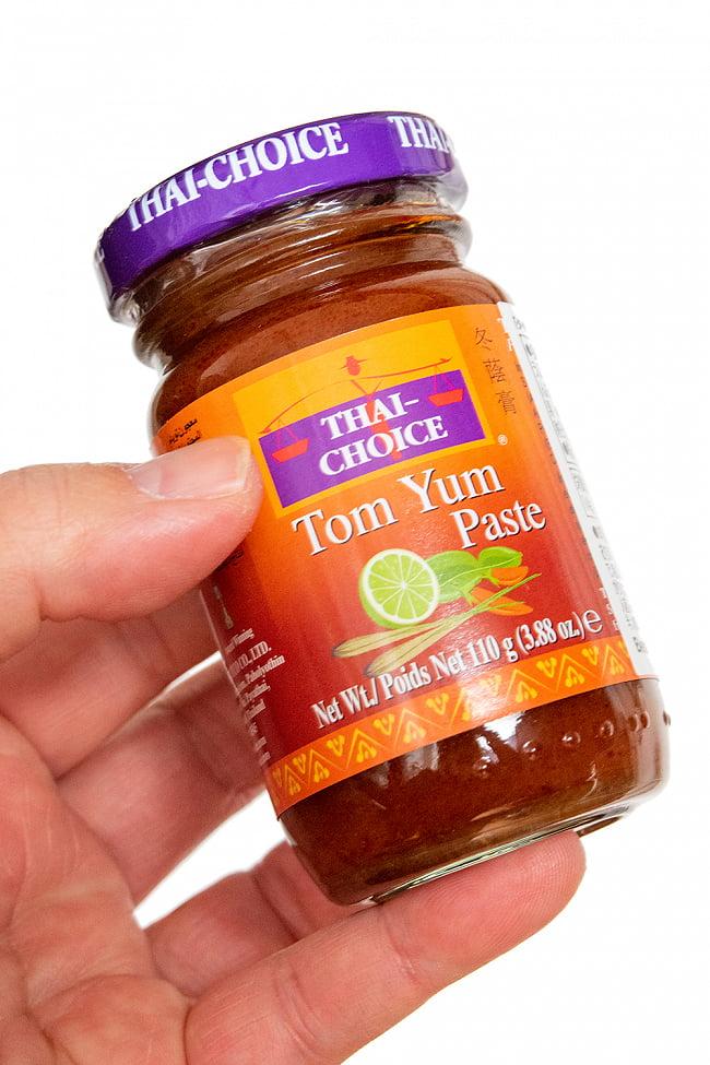 トムヤムペースト 【Thai Choice】 3 - これくらいのサイズ感になります。