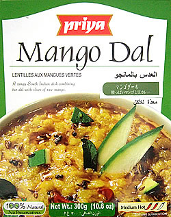 【Priya】Mango Dal - 酸っぱいマンゴーと豆カレーの写真