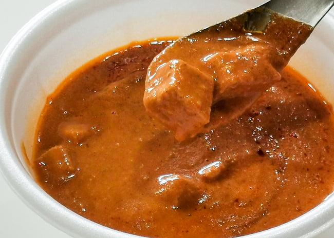 Paneer Makhani - チーズとバターのカレー[MTRカレー] 3 - 実際に中を開けてみました