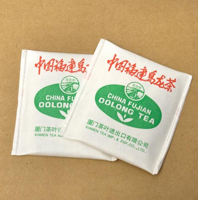ウーロン茶 ティー バック 【20パック】 【FUJIAN】 2 - 一つ一つ個包装で、20パック入り。丁度いい量です。