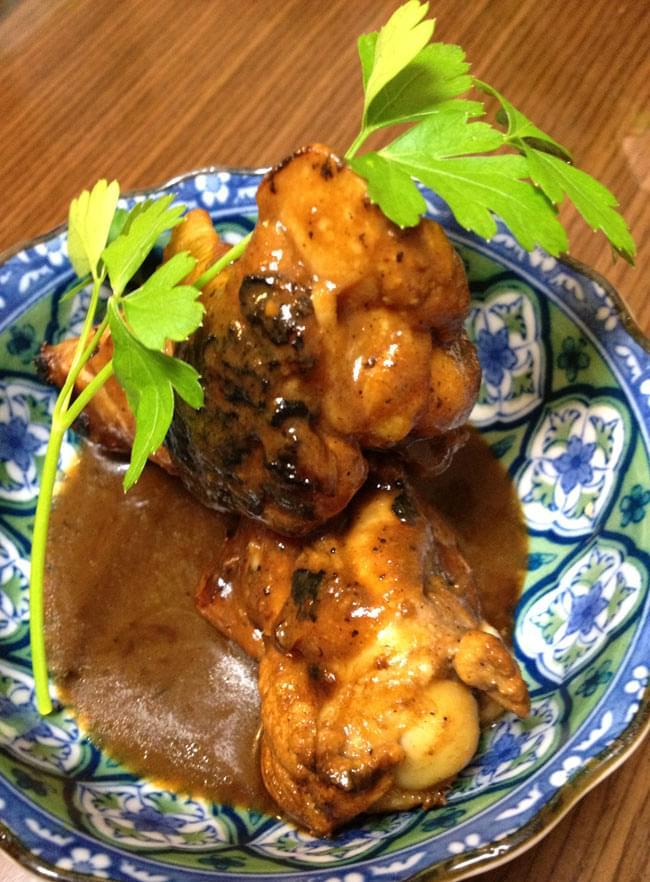 フィリピン料理 アドボの素 - Adobo 【MamaSita's】 3 - 鶏の手羽先で、アドボを作ってみました。とろとろのソースが決め手。