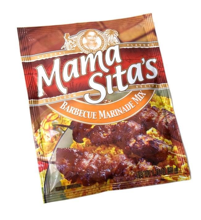 フィリピン料理 フィリピン風バーベキューの素 - Barbeque Marinade Mix 【MamaSita's】の写真