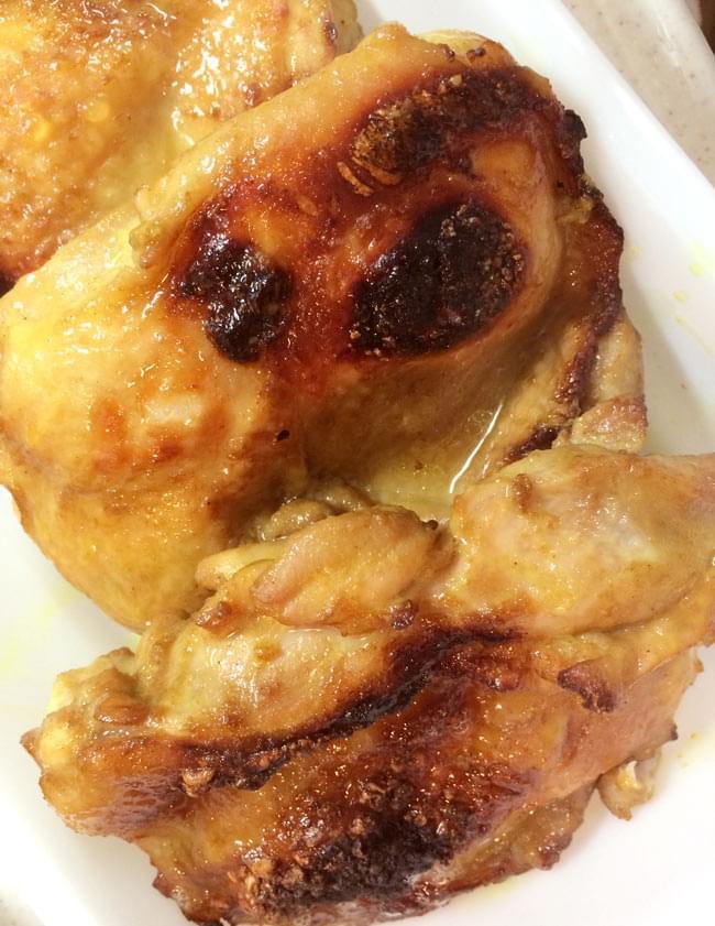 タイ風チキンシーズニングの写真 - こんがり焼いてみました。オーブンで焼いても炭で焼いてもどちらでもGoodです。