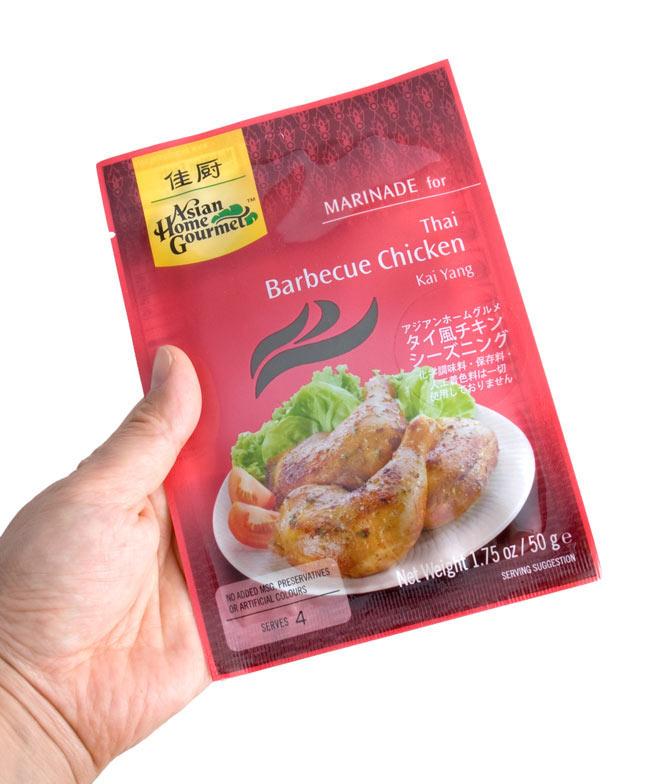 タイ風チキンシーズニング 5 - 手に持ってみました。簡単に美味しいを是非お試しください。