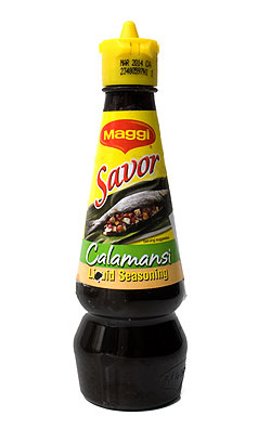 シーズニング ソース カラマンシー - Liquid seasoning Calamansi 【Savor】