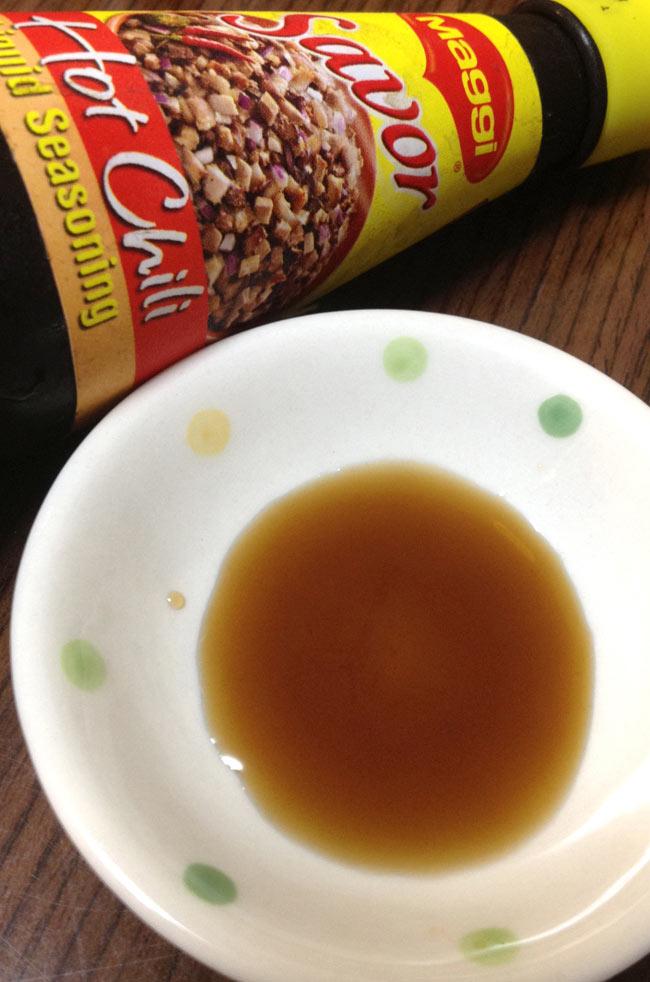シーズニング ソース ホット チリ - Loquid seasoning Hot Chili 【Savor】 2 - 日本で言う、ダシ醤油の様なものです。つけダレ、炒めもの、色々使えます。