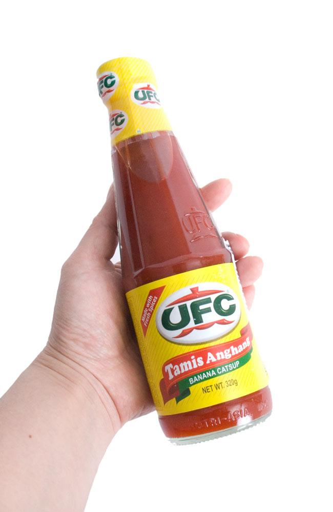 バナナ ケチャップ ー Banana Catsup 【UFC】 3 - 食卓に置いてもいいサイズです。是非、使ってみてください。