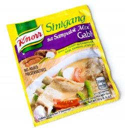 フィリピン料理 シニガンサンパロック ガビの素 - Sinigang Sa Sampalok Gabi 【Knorr】