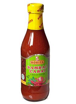 サンバル チャベ - Sambal Cabai インドネシア チリ ソース 【Kokita】(FD-LOJ-170)