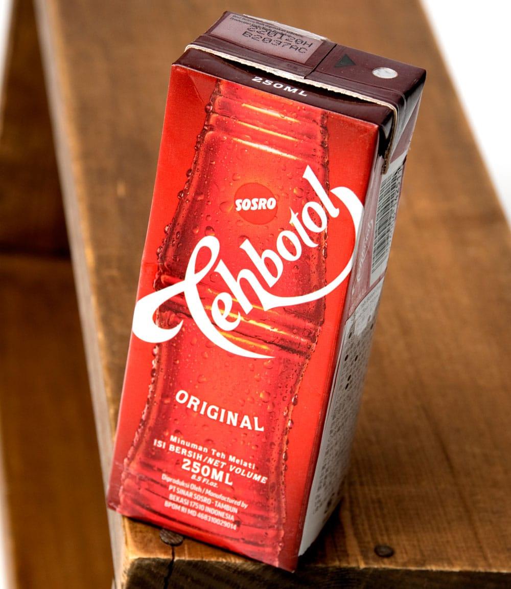 ティーボトル - Tehbotol 【Sosro】 3 - パッケージを別の角度から撮影しました