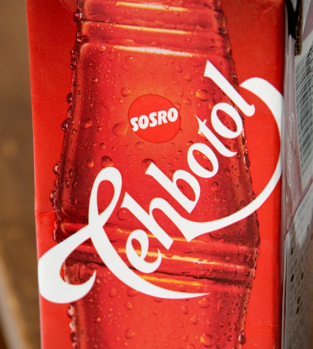 ティーボトル - Tehbotol 【Sosro】 4 - パッケージの拡大です