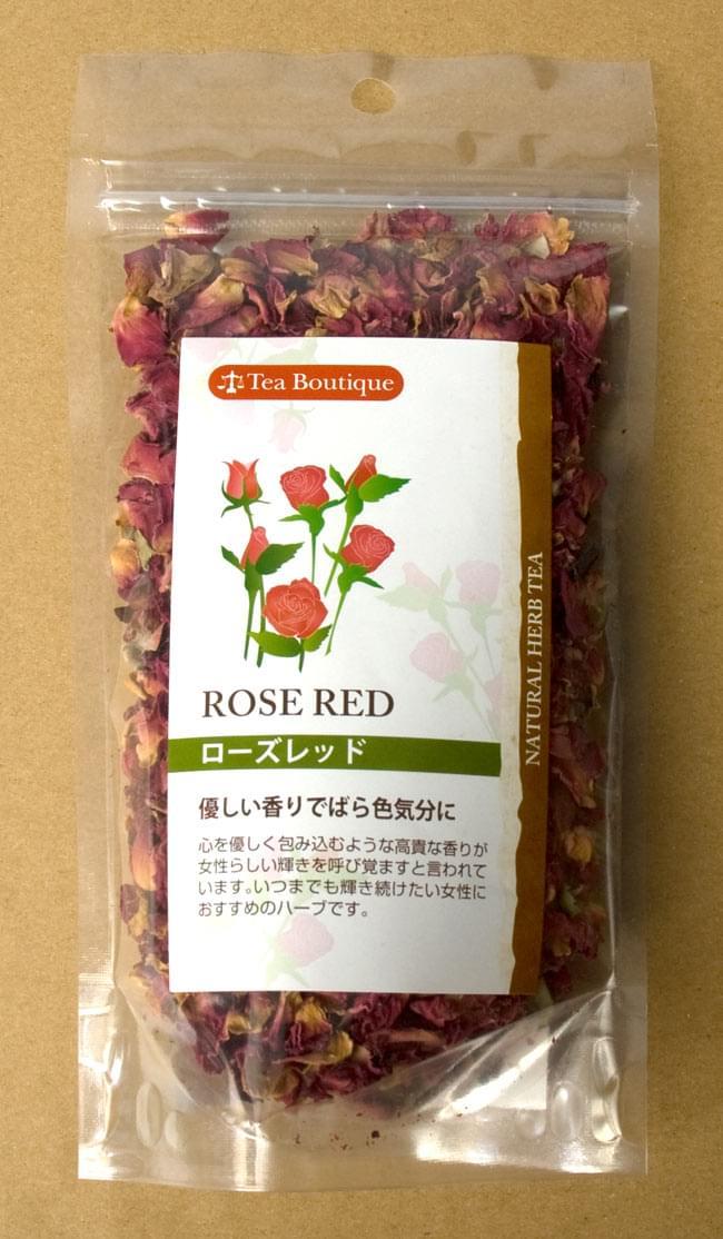 ローズ レッド フラワー 【Tea Boutique】の写真