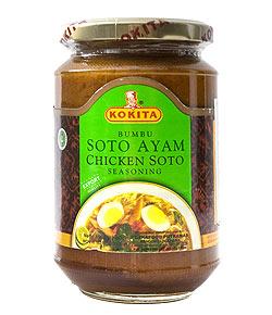 インドネシア料理 ソトアヤムの素 - SOTO AYAM 【KOKITA】(FD-LOJ-237)