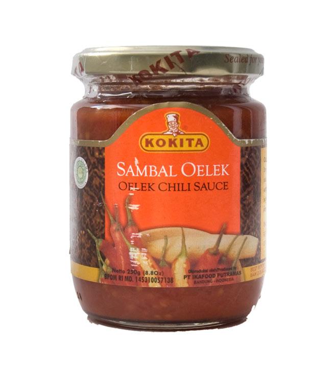 インドネシア チリ ソース サンバルオレック - Sanbal Oelek 【KOKITA】の写真