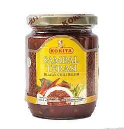 インドネシア チリ ソース サンバル テラシ- Sambal Terasi 【KOKITA】(FD-LOJ-248)