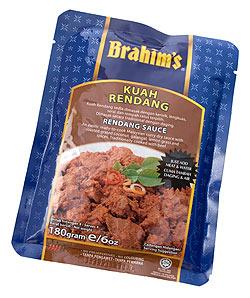 マレーシア料理の素 - ルンダンソース - Kuah Rendang 【Brahim】(FD-LOJ-267)