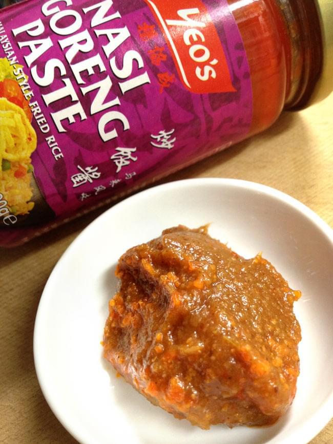 マレーシア料理の素 - ナシゴレン ペースト【YEOs】 2 - ごはんに馴染みやすいペースト状です。旨味ぎっしりです。辛すぎない辛さです。