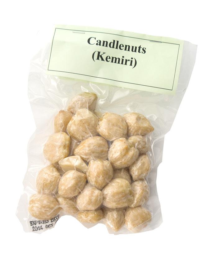 キャンドル ナッツ - Candle Nuts (Kemiri)の写真