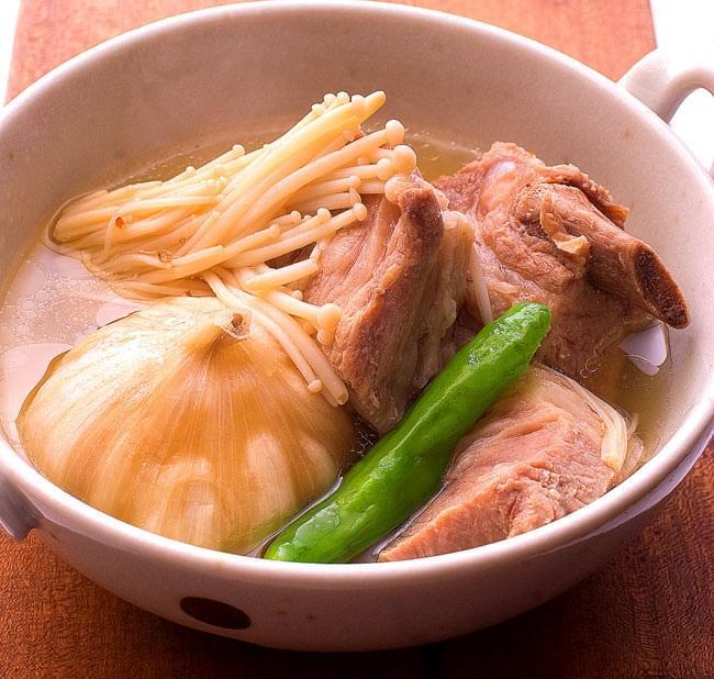 マレーシア料理の素 - バクテー(肉骨茶)の素【dfe】の写真3 - ティラキタのスタッフが作ってみました。簡単にできますので、ぜひ一度お試し下さい。※ティラキタレシピに載っています。
