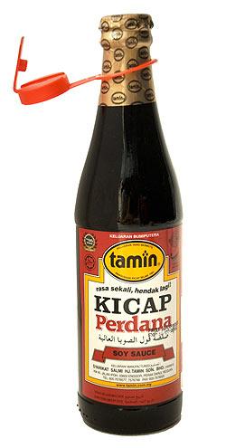 ケチャップマニス (濃厚甘口醤油) - Kicap Perdana 【Tamin】
