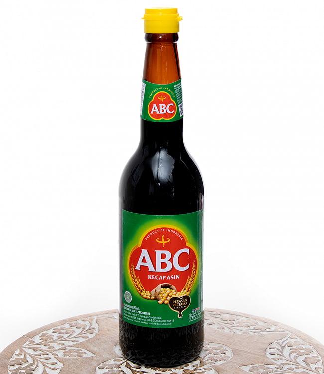 ケチャップ アシン - 辛口しょうゆ 620ml 【ABC】の写真