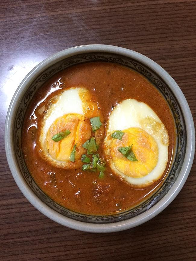 たまご カレー スパイス ミックス ‐ Egg Curry Spice Mix 50g 【Rasoi Magic】  3 - 作ってみました。ああ、インドの食堂ってこんな味だよなぁ、インドの庶民の味だと思いました。