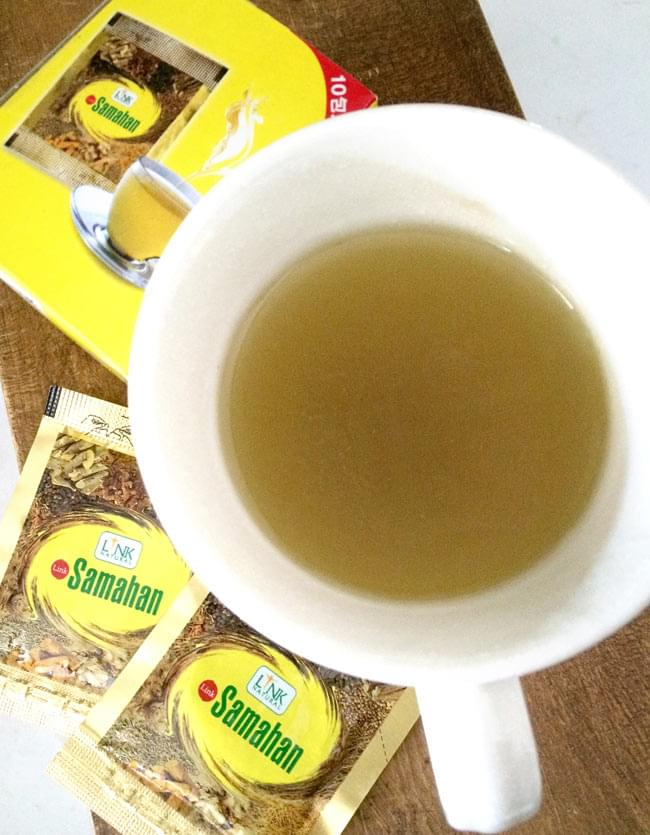 サマハン - Samahan 【LINK NATURAL】 4 - お召し上がり方は簡単。カップにサマハンを入れて、お湯を注ぐだけ。顆粒状なのでさっと溶けてすぐにお召し上がりになれます。