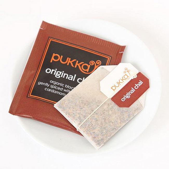 【PUKKA】original chai- オーガニックハーブティー  2 - しっかりした個包装で、一箱に20袋入っています。こちらのデザインとは違う場合がございます。その場合は、何卒ご了承下さい。