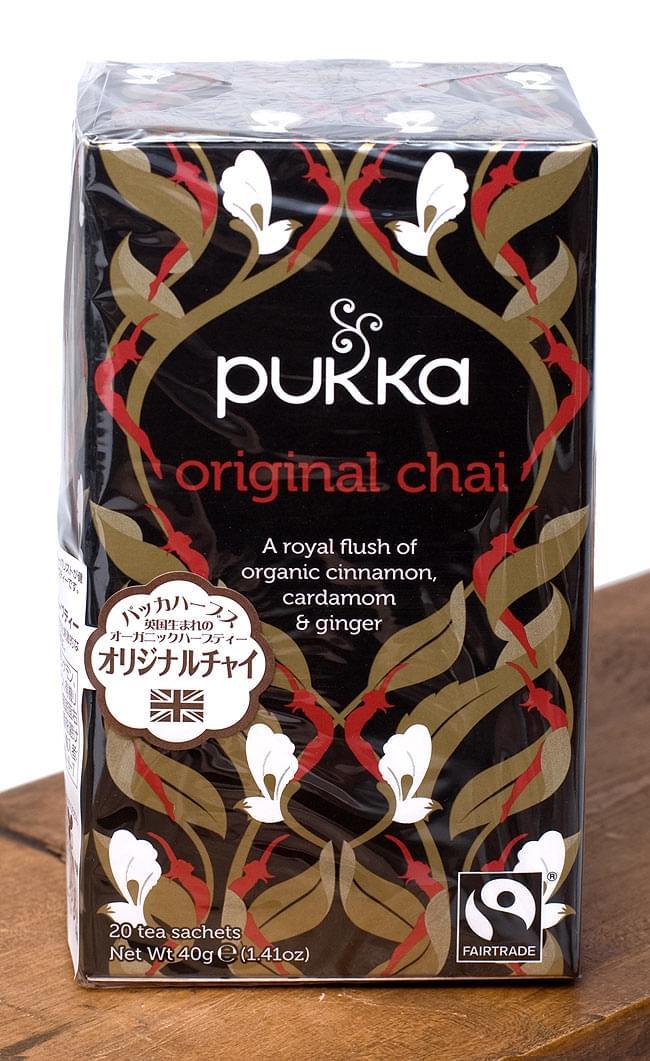 【PUKKA】original chai- オーガニックハーブティー の写真