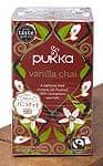【PUKKA】 vanilla chai - オーガニックハーブティー(カフェインフリー)