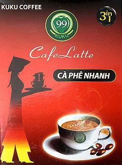 ベトナム コーヒー インスタント - ラテ 3in1 【KUKU】