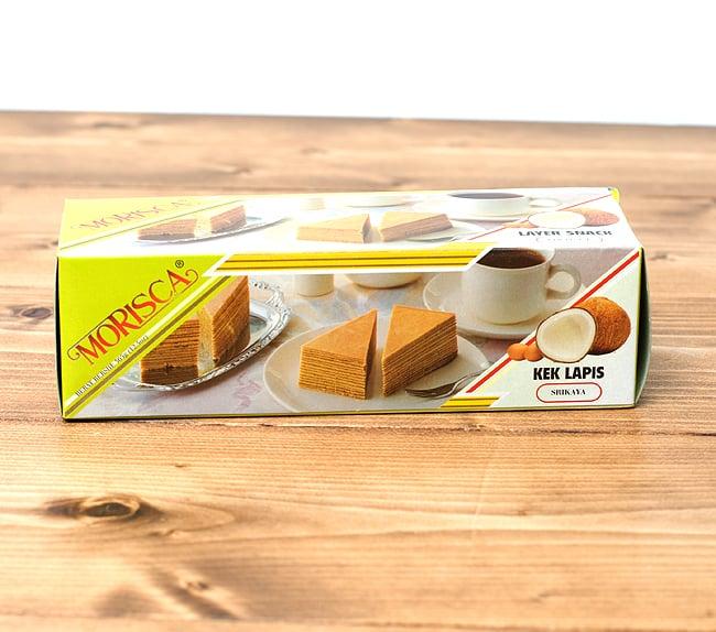 レイヤーケーキ ココナッツ(スリカヤ風味) 【MORISCA】の写真