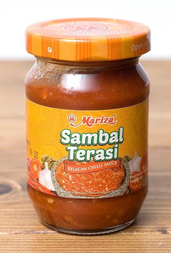 インドネシア チリ ソース サンバル テラシ- Sambal Terasi 【Mariza】の写真