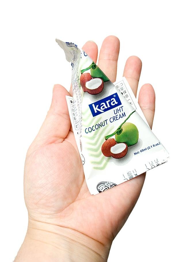 ココナッツクリーム 3個パック 65ml×3個入 【Kara】 4 - 写真