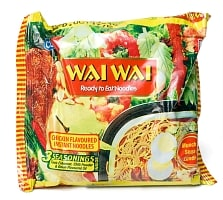 WAIWAI Noodles - インドのインスタントヌードル【チキン味】
