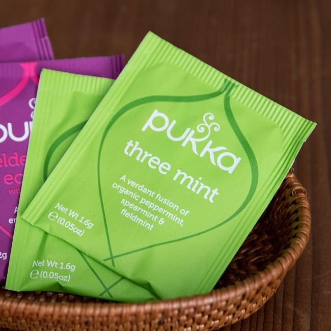 【PUKKA】 オーガニックハーブティー【4種類入り】ハーバルコレクション 4 - three mint